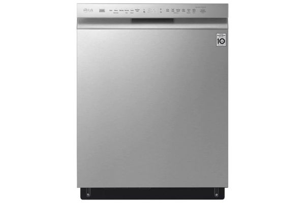 Large image of LG Stainless Front Control Smart Wi-Fi Enabled Dishwasher With QuadWash - LDF5678SS