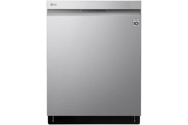 "LG 24"" PrintProof Stainless Steel Built-In Dishwasher With QuadWash And TrueSteam - LDP6809SS"