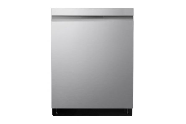 """Large image of LG 24"""" PrintProof Stainless Steel Top Control Smart Wi-Fi Enabled Dishwasher With QuadWash And TrueSteam - LDP6810SS"""