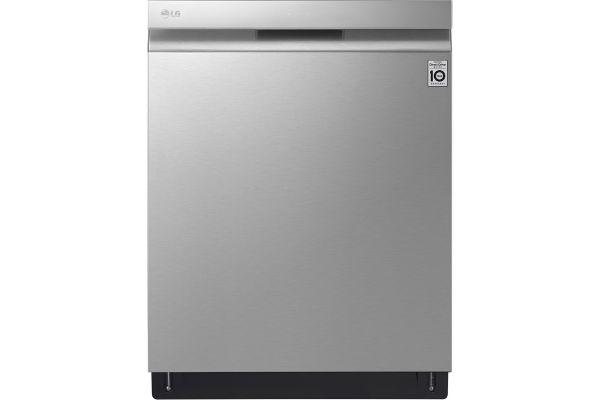 "LG 24"" PrintProof Stainless Steel Dishwasher With QuadWash - LDP7808SS"