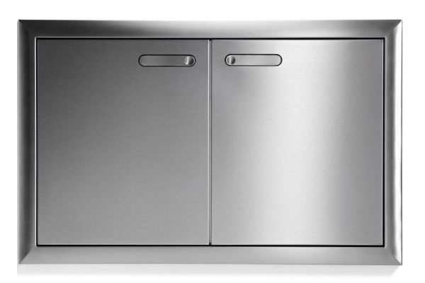 """Large image of Lynx 36"""" Stainless Steel Ventana Access Doors - LDR36T4"""