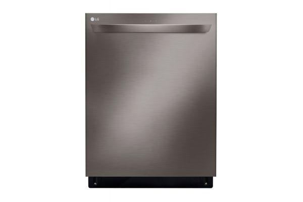 "LG 24"" Black Stainless Steel Built-In Dishwasher with QuadWash - LDT5678BD"