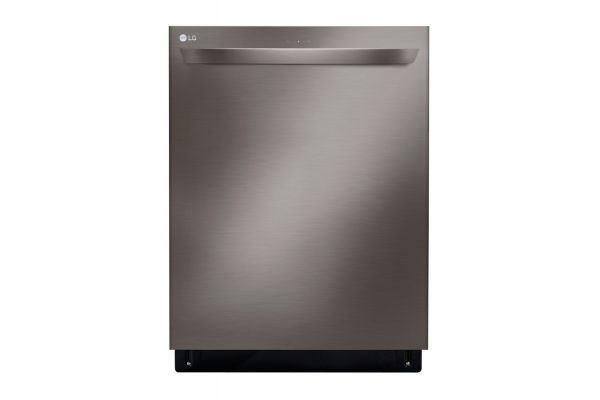 """Large image of LG 24"""" Black Stainless Steel Top Control Smart Wi-Fi Enabled Dishwasher With Quadwash - LDT5678BD"""