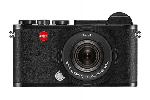 Large image of Leica CL Vario Black Digital Camera With 18-56mm Lens - 19341