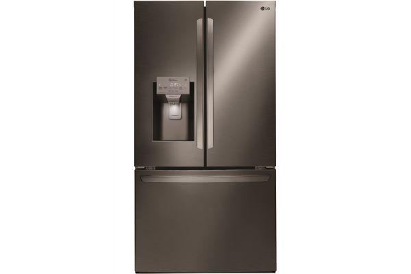 LG Black Stainless Steel French Door Refrigerator - LFXS26973D