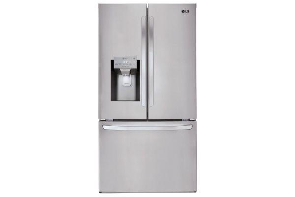 LG Stainless Steel French Door Refrigerator - LFXS26973S