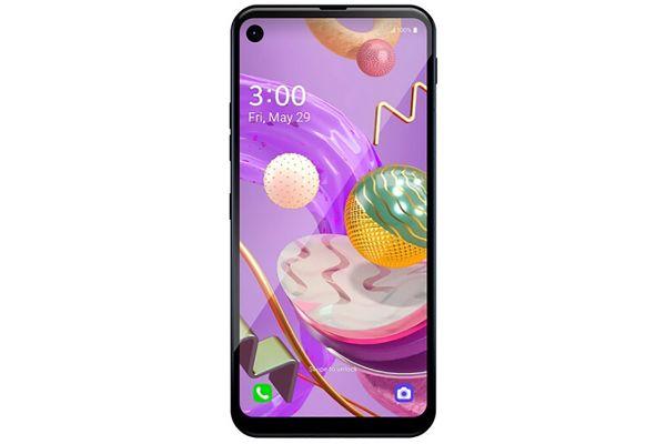 Large image of LG Q70 64GB Black Unlocked CDMA+GSM* Phone - LMQ620QM.AUSAMB