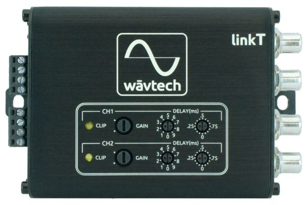 Large image of Wavtech 2-Channel Digital Time Alignment Processor - LINK-T