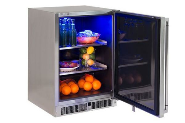 "Lynx Professional 24"" Outdoor Refrigerator, Left Hinge - LM24REFL"
