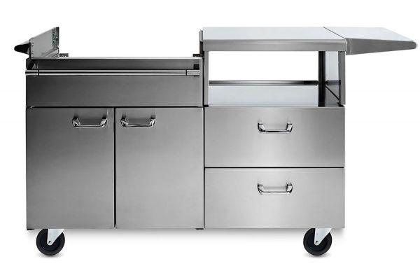 "Large image of Lynx 54"" Mobile Kitchen Cart - LMKC54"