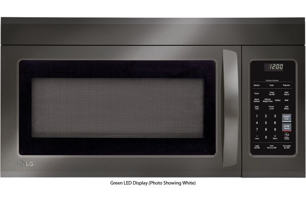 Large image of LG 1.8 Cu. Ft. Black Stainless Steel Over-The-Range Microwave Oven With EasyClean - LMV1831BD