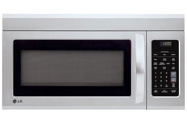 Large image of LG 1.8 Cu. Ft. Stainless Steel Over-The-Range Microwave Oven With EasyClean - LMV1831ST