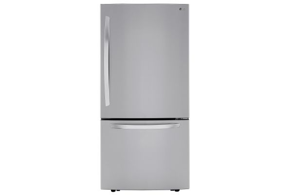 LG PrintProof Stainless Steel Bottom Freezer Refrigerator - LRDCS2603S