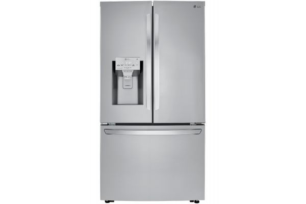 LG 24 Cu. Ft. Smart Wi-Fi Enabled Stainless Steel Counter-Depth Refrigerator With Craft Ice Maker - LRFXC2416S