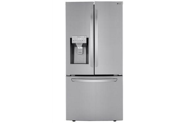 LG 25 Cu. Ft. PrintProof Stainless Steel French Door Refrigerator - LRFXS2503S