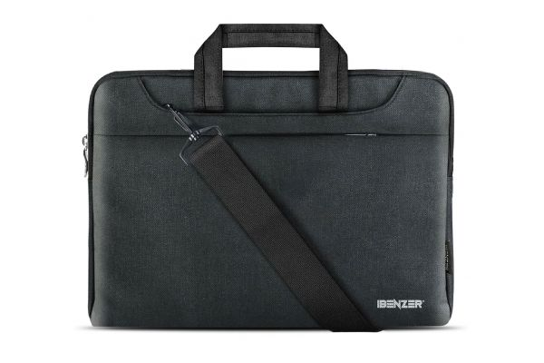"Large image of iBenzer 13.3"" Black Laptop Sleeve Carrying Case - LS-SLD-0113BK"