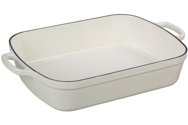 Le Creuset Signature 5.25 Quart White Cast Iron Roaster - LS2011-3316