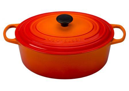 Le Creuset 8 Qt. Flame Oval Dutch Oven  - LS2502-332