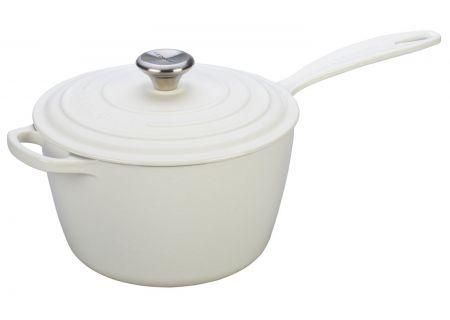 Le Creuset 3.25 Quart White Saucepan - LS2518-2016SS