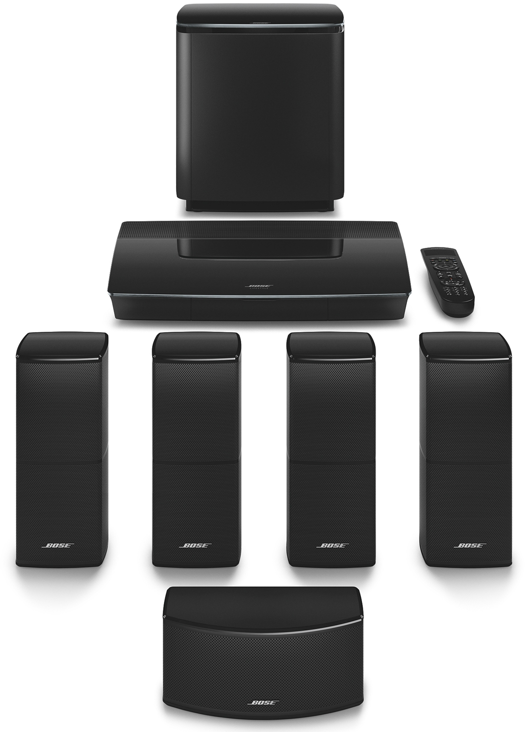 e5d76b5500 Bose Black Lifestyle 600 Home Entertainment System - 761682-1110