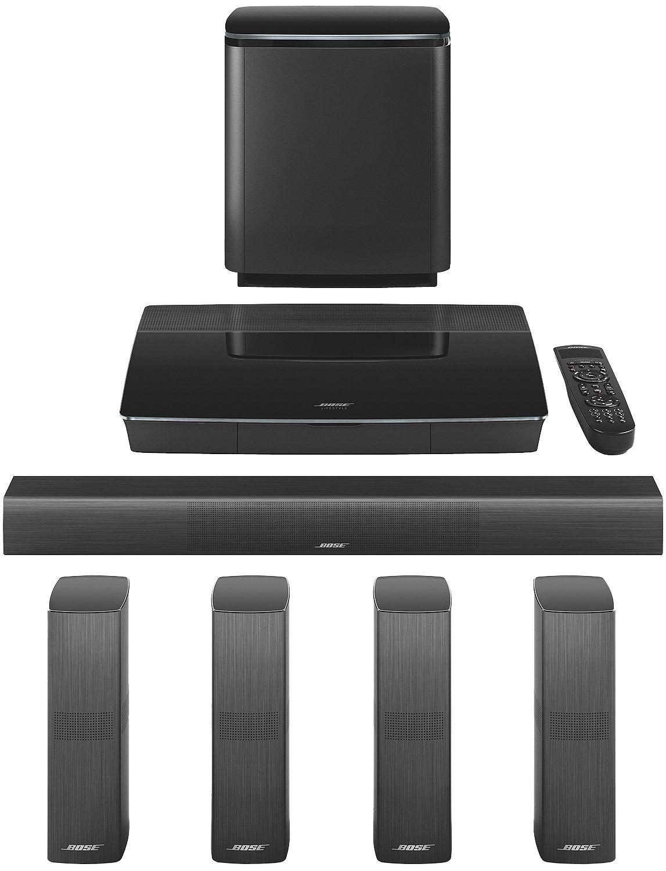bose black lifestyle 650 system 761683 1110. Black Bedroom Furniture Sets. Home Design Ideas
