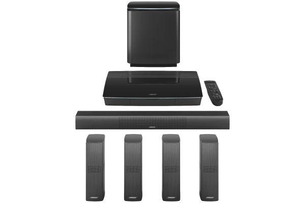 Bose Black Lifestyle 650 Home Entertainment System - 761683-1110