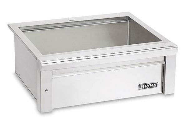 """Large image of Lynx Professional 30"""" Stainless Steel Sink - LSK30"""