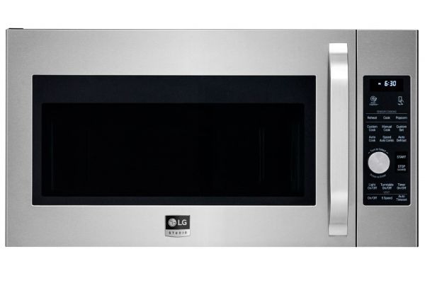 LG STUDIO 1.7 Cu. Ft. Stainless Steel Over-The-Range Convection Microwave Oven  - LSMC3086ST