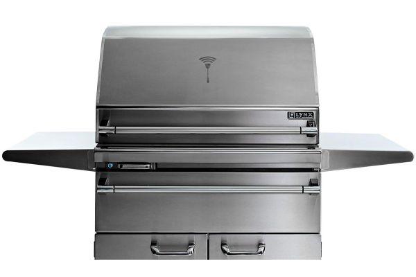 Lynx Sonoma Natural Gas Smart Freestanding Smoker - LSMKF-NG