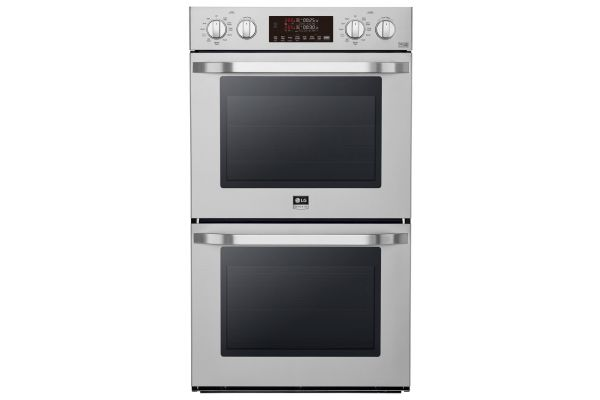 """Large image of LG STUDIO 30"""" Stainless Steel Smart Double Oven - LSWD307ST"""