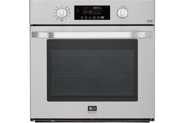 """Large image of LG STUDIO 30"""" Stainless Steel Single Wall Oven - LSWS307ST"""