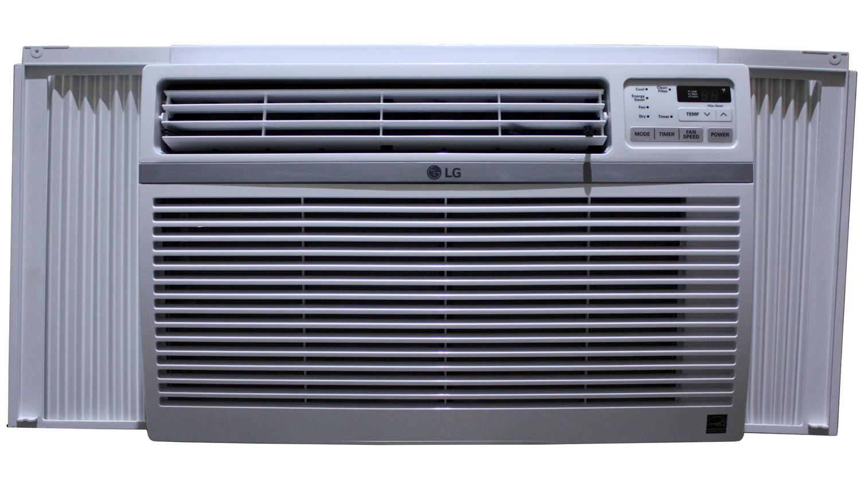 LG 10 000 BTU 12.1 EER 115V Window Air Conditioner LW1016ER #4B5780