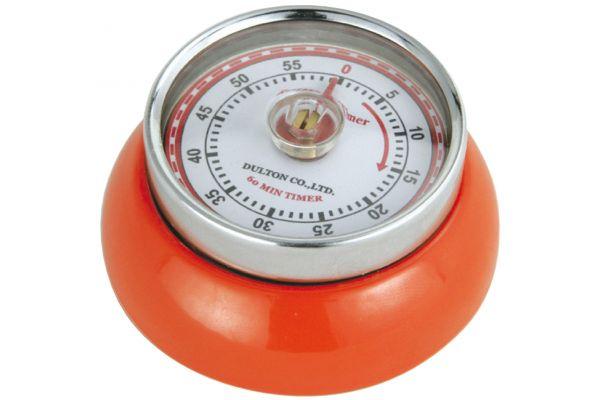Large image of Zassenhaus Orange Retro Kitchen Timer - M072389