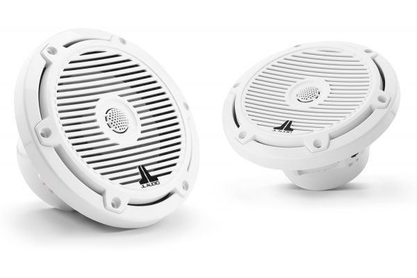 "Large image of JL Audio M3 6.5"" Gloss White Coaxial Marine Speakers - 93511"