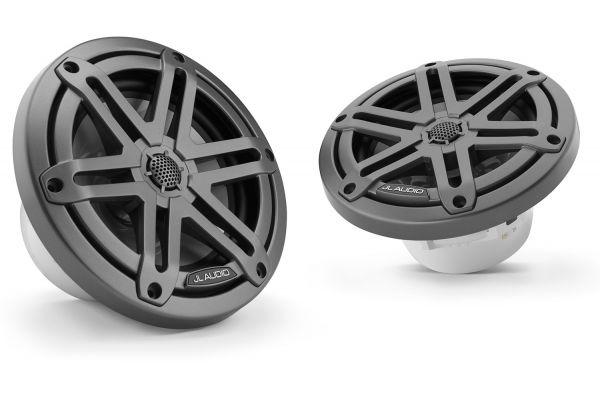 "JL Audio M3 6.5"" Gunmetal Coaxial Marine Speakers - 93512"