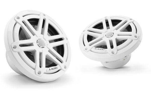 "JL Audio M3 6.5"" Gloss White Coaxial Marine Speakers - 93514"