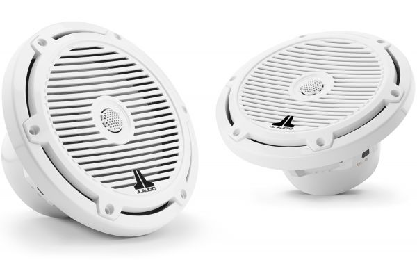 "JL Audio M3 7.7"" Gloss White Coaxial Marine Speakers - 93519"