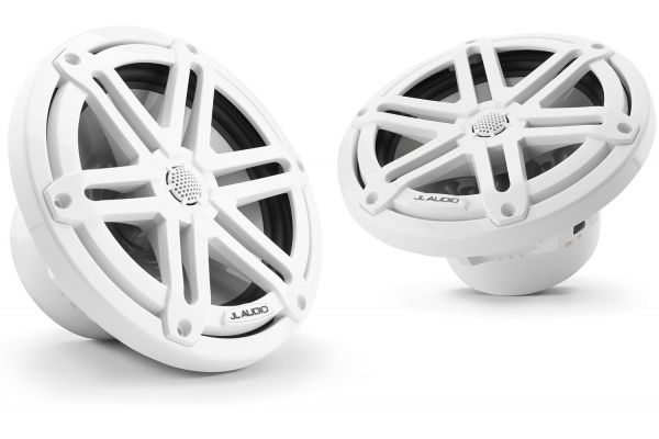 "JL Audio M3 7.7"" Gloss White Coaxial Marine Speakers - 93522"