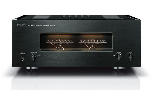 Large image of Yamaha Black 200W Power Amplifier - M-5000BL