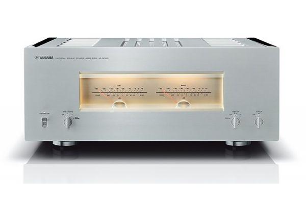 Large image of Yamaha Silver 200W Power Amplifier - M-5000SL