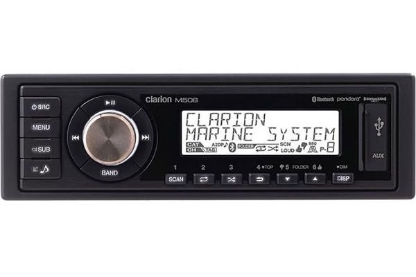 Clarion Marine Digital Media Receiver With Built-In Bluetooth - 92701