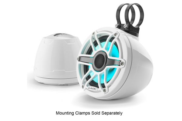 """Large image of JL Audio M6 6.5"""" Marine Enclosed Coaxial Speaker System With Transflective LED Lighting (Pair) - 93412"""