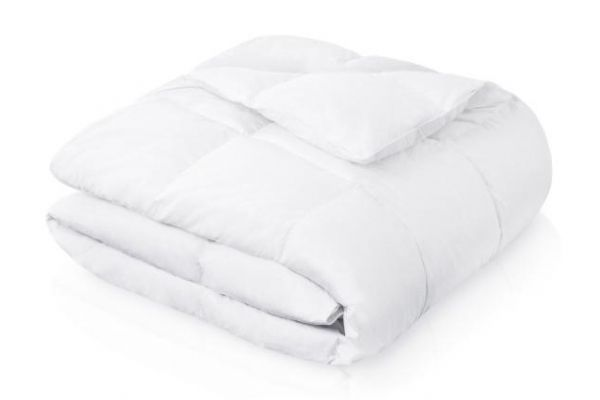 Large image of Malouf Woven Full Down Blend Comforter - MA25FF20DDCO