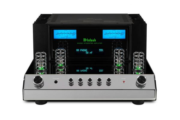 Large image of McIntosh Black 2-Channel Integrated Amplifier - MA352