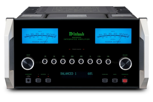 Large image of McIntosh Black 2-Channel Integrated Amplifier - MA9000