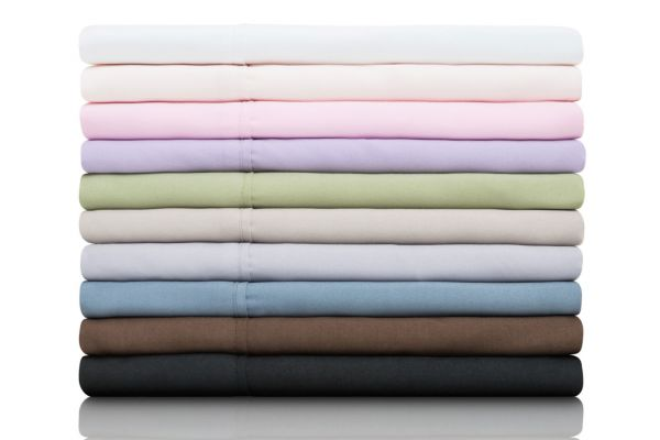 Malouf Woven Pacific California King Brushed Microfiber Sheets - MA90CKPAMS