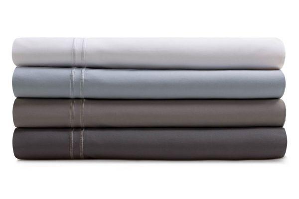 Large image of Malouf Woven Flax California King Supima Premium Cotton Sheet Set - MAS6CKFLSS