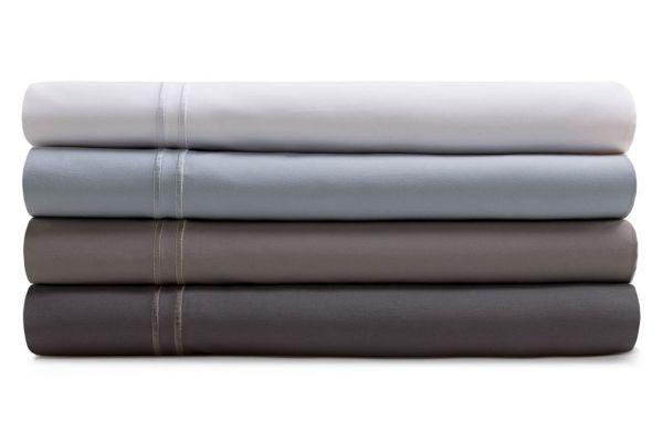 Large image of Malouf Woven Flax King Supima Premium Cotton Sheet Set - MAS6KKFLSS