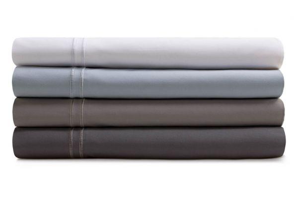 Large image of Malouf Woven Flax Queen Supima Premium Cotton Sheet Set - MAS6QQFLSS