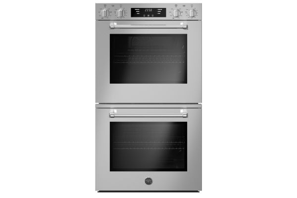 """Large image of Bertazzoni 30"""" Master Series Stainless Steel Double Wall Electric Convection Oven - MAST30FDEXV"""